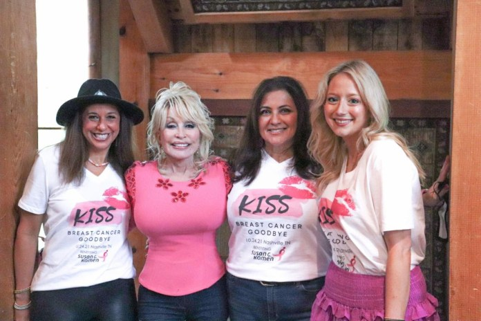 Dolly Parton Kiss Cancer Goodbye Benefit Concert