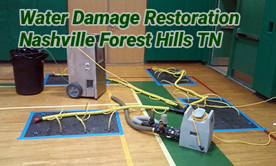 Water Damage Restoration Nashville Forest Hills TN