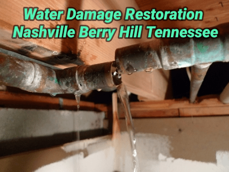 Water Damage Restoration Nashville Berry Hill Tennessee