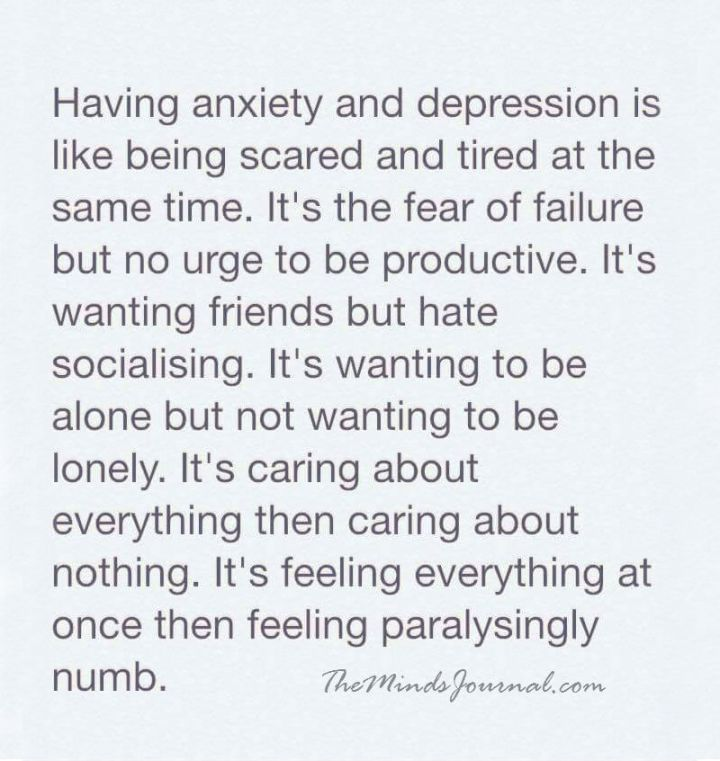 anxiety 4 - LIVING WITH ANXIETY & DEPRESSION. IT'LL ALL BE OK. by Nashville lifestyle blogger Nashville Wifestyles
