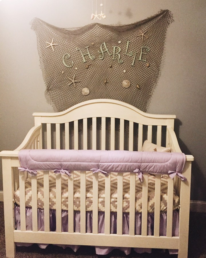 mermaid nursery reveal