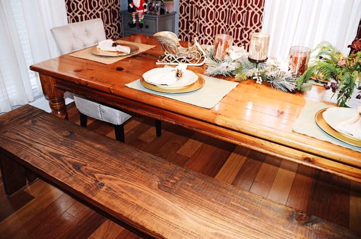 rustic kitche, farmhouse table