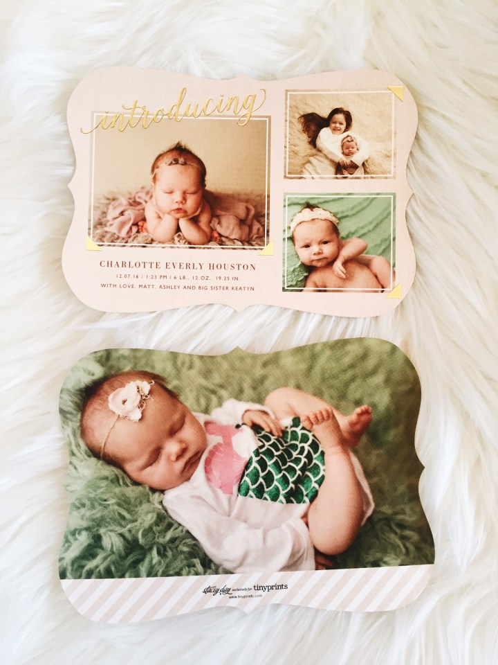 Birth announcements, mermaid birth announcements