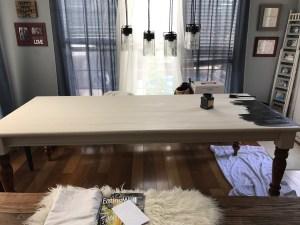 DINING ROOM TABLE MAKEOVER by popular Nashville lifestyle blogger Nashville Wifestyles