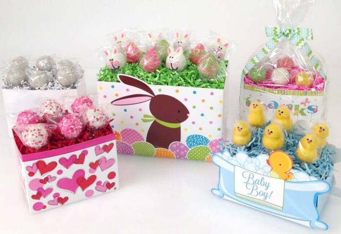 How To Display Cake Pops In A Gift Basket Box Nashville Wraps Blog