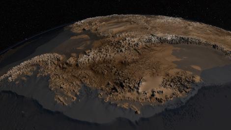 Антарктида безо льда