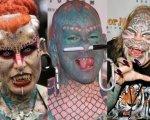 Экстремальные татуировки и модификации тела