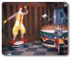 Часть коллекции гамбургеров
