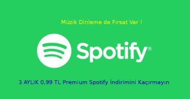 Spotify premium hesap nasıl indirilir