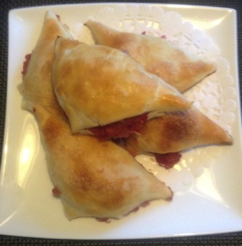 Pear-Cranberry Hand Pie