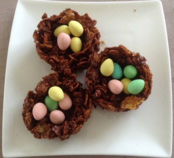 Cornflakes Pudding Easter Baskets)