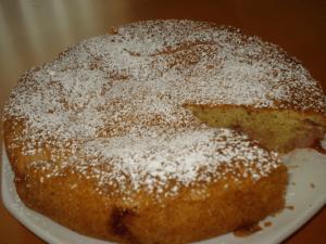 Blackberry almond cardamon cake
