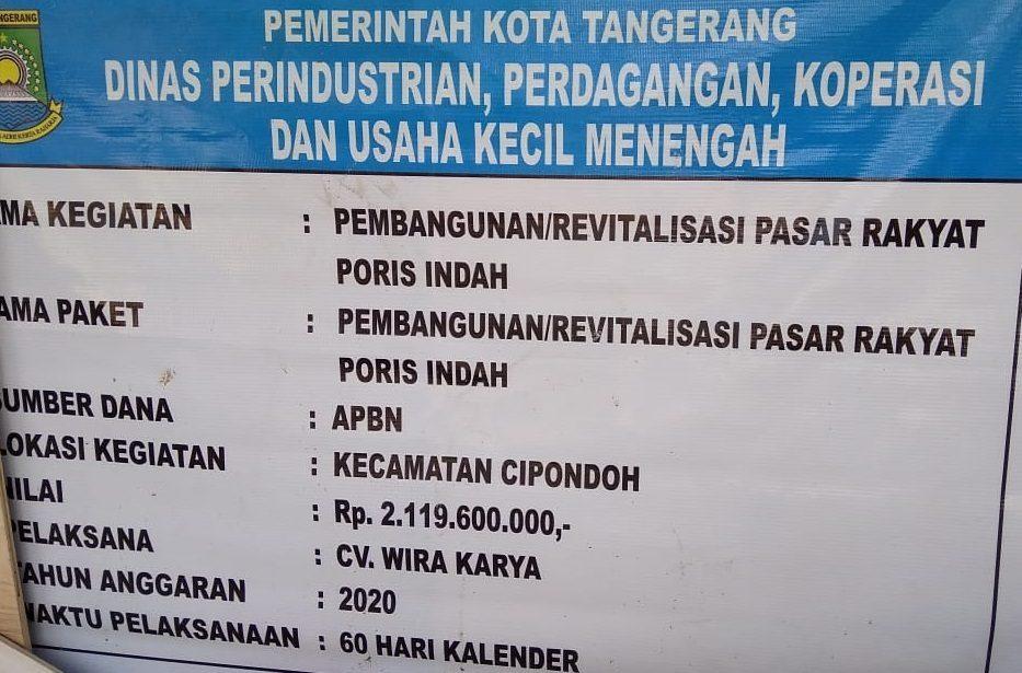 Dinas Indagkop Ukm Kota Tangerang
