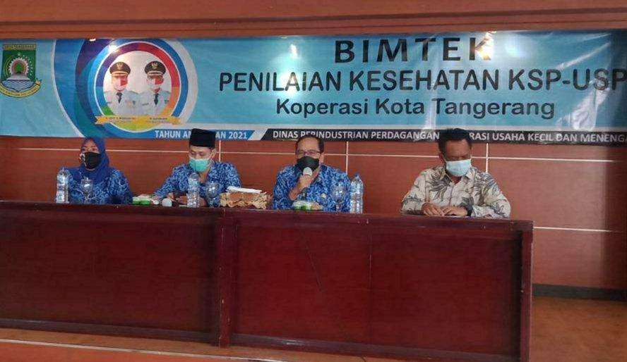 Bidang Koperasi Dinas Indagkop UKM Kota Tangerang