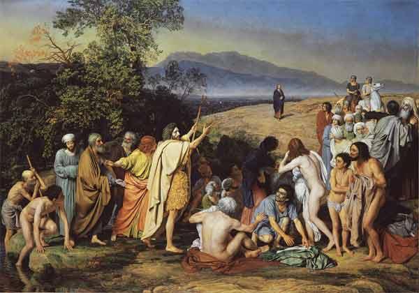 Александр Андреевич Иванов. Явление Христа народу. 1837–1857. ГТГ