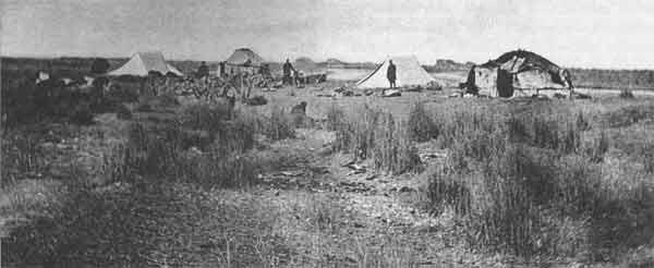 Экспедиционный лагерь