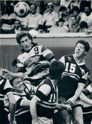 NASL Soccer Minnesota Strikers 84 Road Alan Willey, Sting Chris Kenny, Ricardo Alonso