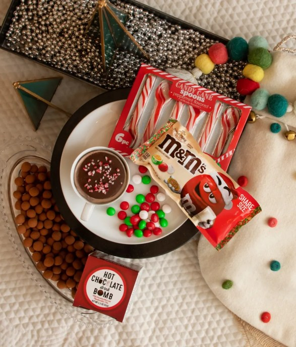 candy canes, holiday candy, sugar cookie, hot cocoa bombs, hot chocolate bombs, cocoa bites, cocoa toppers, holiday traditions, holiday candy, Christmas candy, holiday traditions, holiday food, Christmas food, Christmas traditions, cocoa and cookies for Santa, milk and cookies for Santa, cookies for santa,