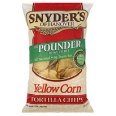 Snyder's of Hanover Yellow Corn Tortilla Chips 10oz