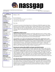 College Board Simplification Study Response 2 1 2012 pdf 1 - College-Board-Simplification-Study-Response-2-1-2012-pdf-1