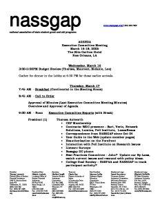 Exec Comm Agenda Spring 2005 pdf 1 - Exec-Comm-Agenda-Spring-2005-pdf-1
