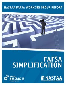 NASFAA Simplification Report July 2015 pdf 1 232x300 - NASFAA-Simplification-Report-July-2015
