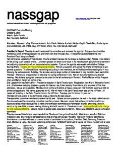 NASSGAP Executive Meeting 10 9 05 pdf 1 - NASSGAP-Executive-Meeting-10-9-05-pdf-1