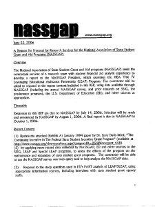 NASSGAP LEAP Research RFP 2006 1 pdf 1 - NASSGAP-LEAP-Research-RFP-2006-1-pdf-1