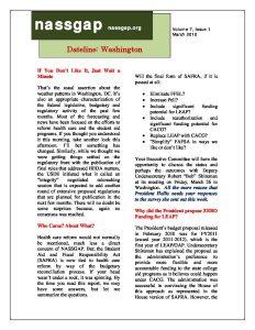 NASSGAP Washington Dateline March 2010 pdf 1 - NASSGAP_Washington_Dateline_March_2010-pdf-1