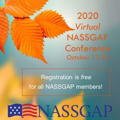 SAVE THE DATE 2 - 2020 Virtual NASSGAP Conference