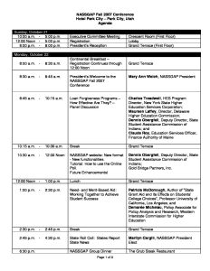 2007 Fall Agenda NASSGAP Conference pdf 232x300 - 2007-Fall-Agenda-NASSGAP-Conference