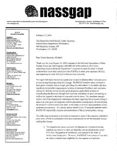 NASSGAP 021216 Letter to Under Secretary Ted Mitchell pdf 232x300 - NASSGAP-021216-Letter-to-Under-Secretary-Ted-Mitchell