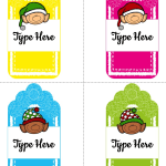 Free Printable and Editable Christmas Gift Tags!