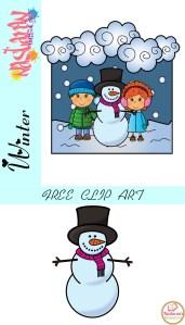 Snowman Clip Art Free