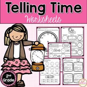 Free printable Telling Time worksheet.