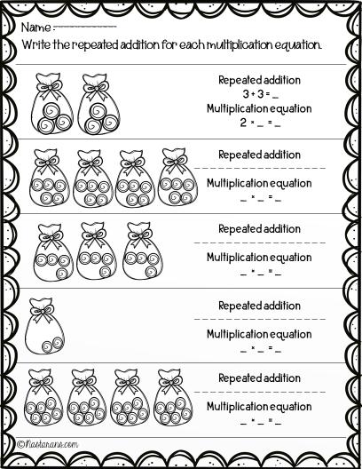 Free multiplication printables worksheets#multiplication#math