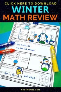 2nd Grade Winter math Worksheet