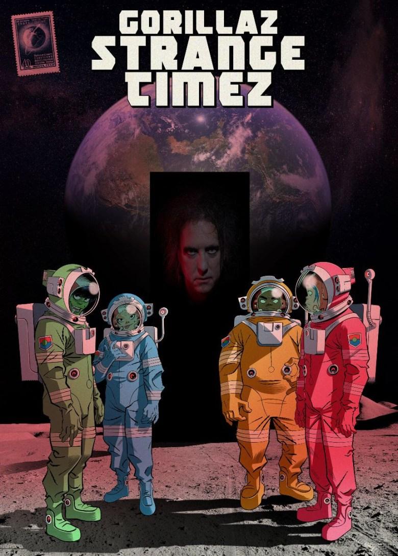 GORILLAZ: Song Machine Season 1 Episode 6 'Strange-Timez' Ft Robert Smith |  Nasty Little Man
