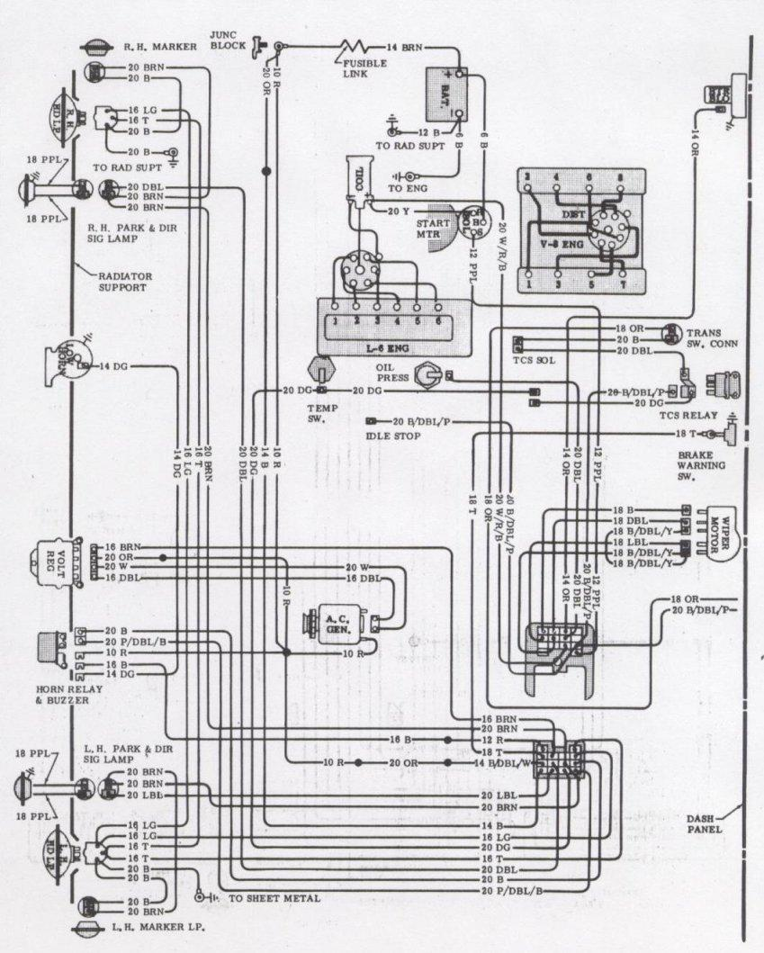 wiring diagram 1971 plymouth duster 71 1975 plymouth