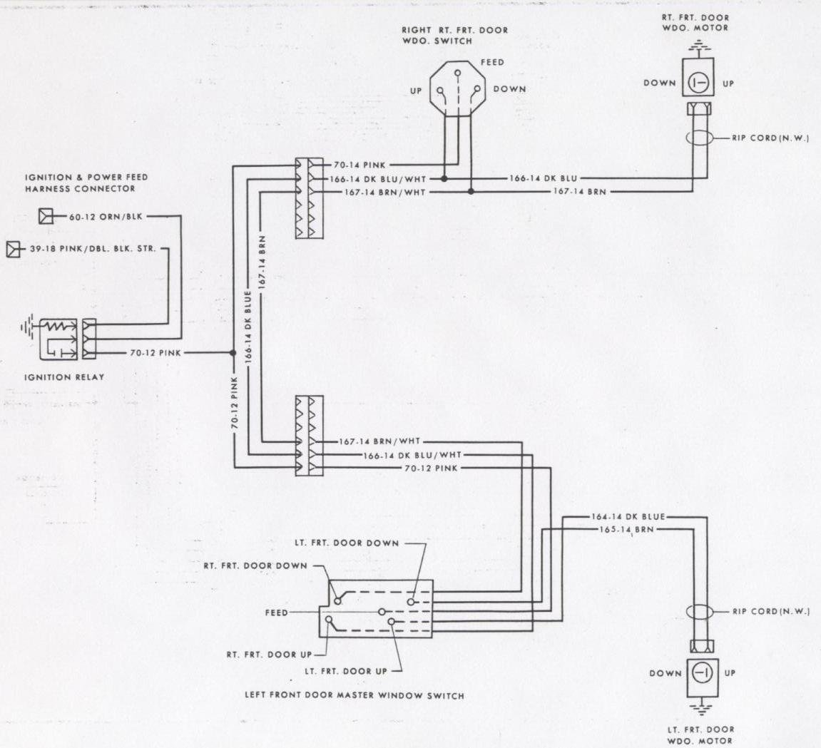 Wiring Diagram For 79 Camaro Power Windows