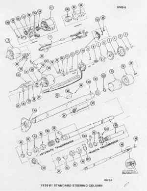 1976 Corvette Steering Column Diagram  Wiring Diagram