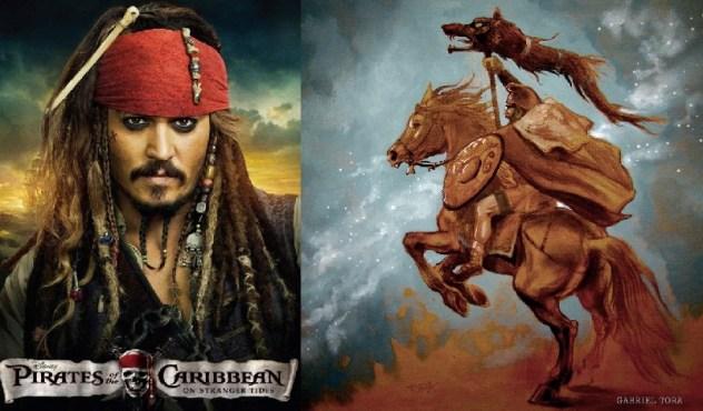 comoara lui decebal - piratii din Caraibe