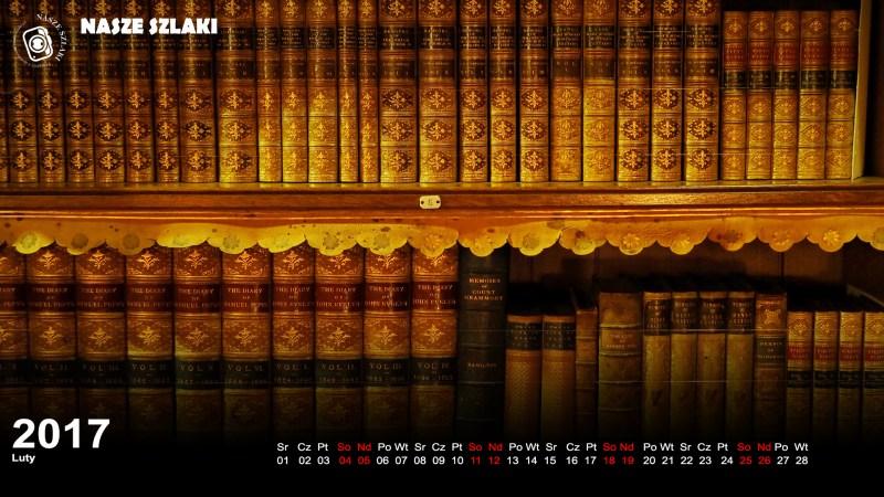 tapeta, tyntesfield, biblioteka, książki, ekran, komputer, pulpit,