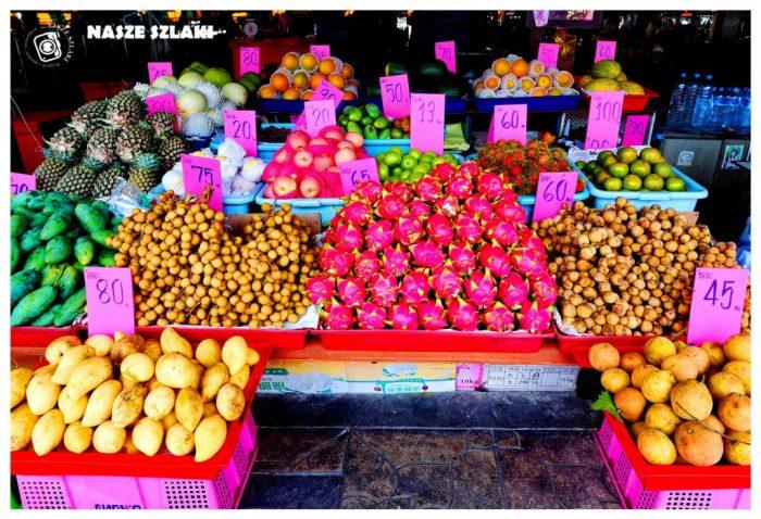 Kanchanaburi, Tajlandia, Azja, Owoce