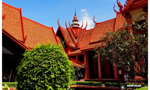 Muzeum Narodowe w Phnom Penh stolicy Kambodży
