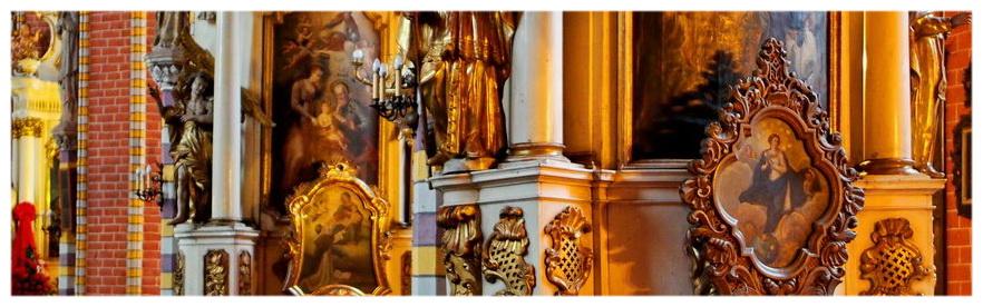Kościół Wniebowzięcia Najświętszej Maryi Panny w Chełmnie. Znajduje się w nim relikwia świętego Walentego, patrona zakochanych.