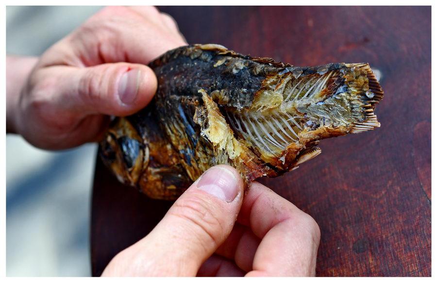 Suszone ryby ze Lwowa, przysmak wprost z Ukrainy.