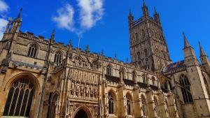 Katedra w Gloucester - Anglia - Wielka Brytania