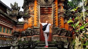 Saraswati Temple, Bali w Indonezji, jedna ze świątyń na wyspie