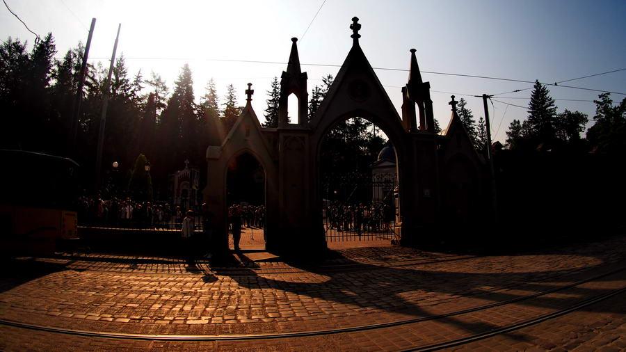 Ukraina - Lwów i Cmentarz Łyczakowski